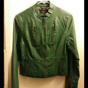 Leather jacket ,Size M
